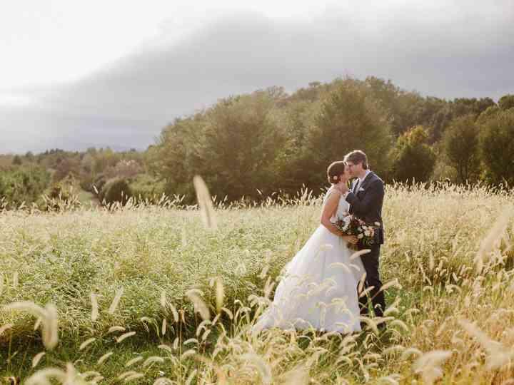 The wedding of Alayna and Dan
