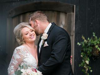 The wedding of Ashley and Derek
