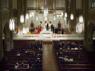 Andrew and Melissa's Wedding in Ambler, Pennsylvania 16