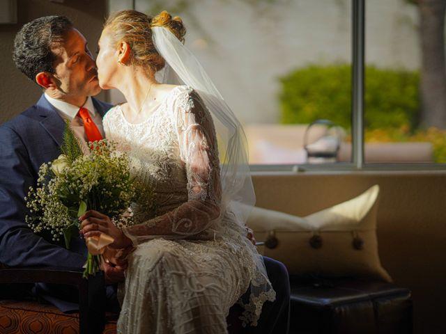 The wedding of Olena and Enrique