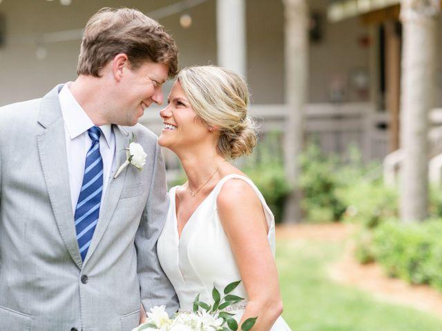 The wedding of Christine and Bryan