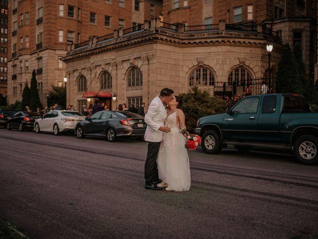 The wedding of Alyssa and Jake