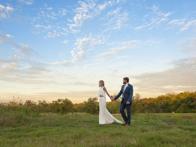 Chelsea and Brandon's Wedding in Celina, Texas 16
