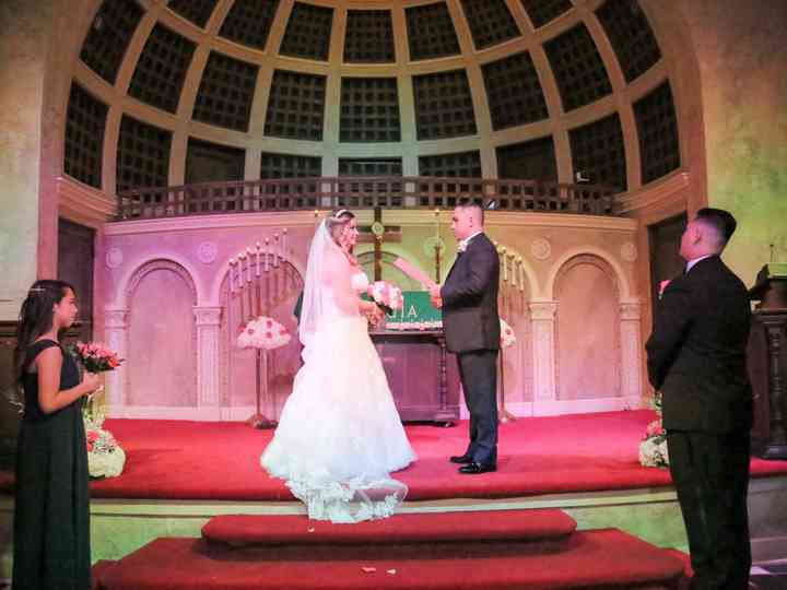 The wedding of Claudia and Guillermo