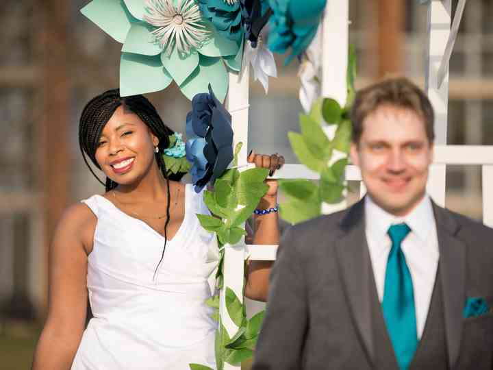 The wedding of Jynell and Nick