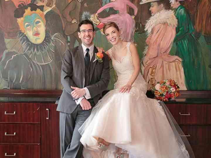 The wedding of Matthew and Rebecca