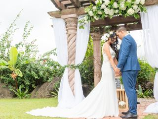 The wedding of Julian and Emma