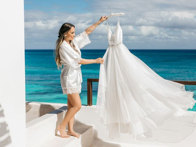 Brian and Nathalie's Wedding in Cancun, Mexico 1