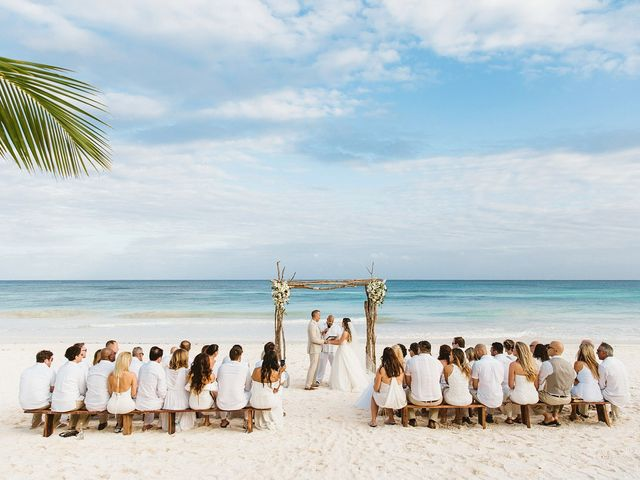 Brian and Nathalie's Wedding in Cancun, Mexico 2