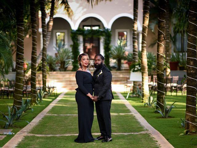 Jaamal and Chena's Wedding in Playa del Carmen, Mexico 27