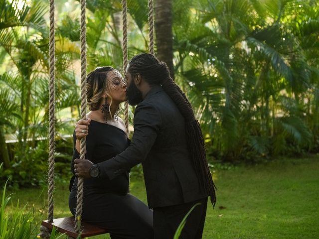 Jaamal and Chena's Wedding in Playa del Carmen, Mexico 34