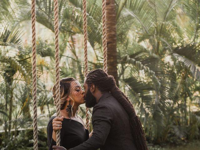 Jaamal and Chena's Wedding in Playa del Carmen, Mexico 35