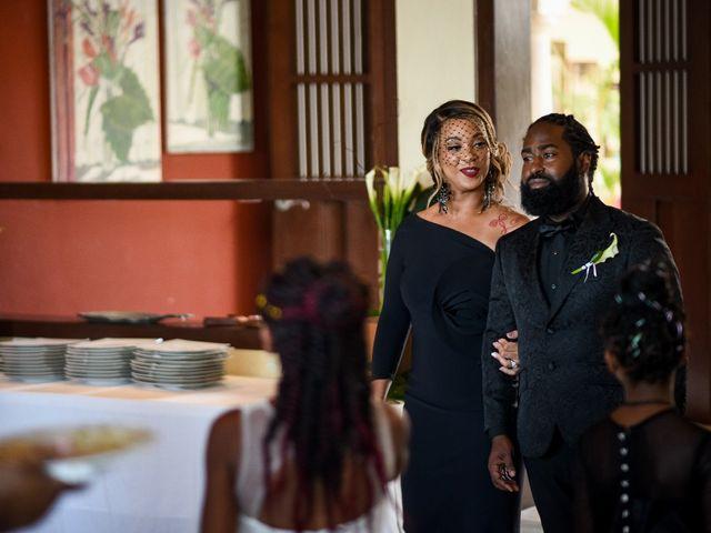 Jaamal and Chena's Wedding in Playa del Carmen, Mexico 39