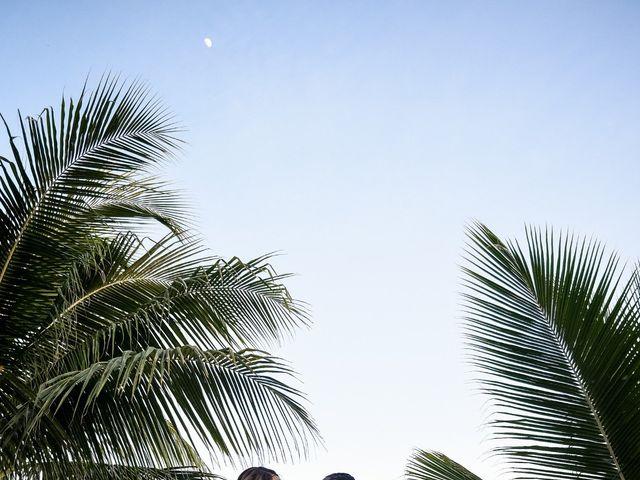 Jaamal and Chena's Wedding in Playa del Carmen, Mexico 43