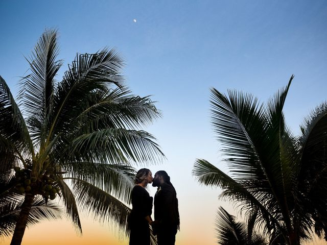 Jaamal and Chena's Wedding in Playa del Carmen, Mexico 46