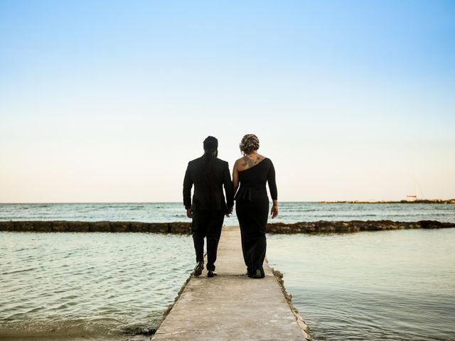 Jaamal and Chena's Wedding in Playa del Carmen, Mexico 47