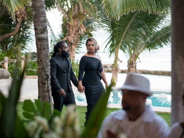Jaamal and Chena's Wedding in Playa del Carmen, Mexico 49