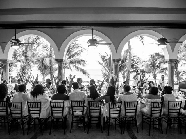 Jaamal and Chena's Wedding in Playa del Carmen, Mexico 50