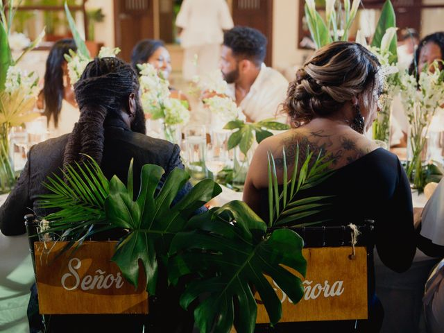Jaamal and Chena's Wedding in Playa del Carmen, Mexico 53