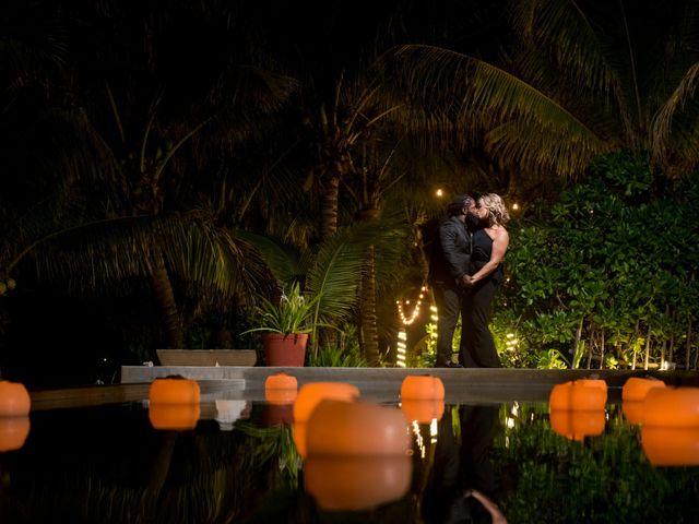 Jaamal and Chena's Wedding in Playa del Carmen, Mexico 54