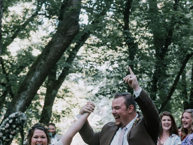 Jake and Katie's Wedding in Watauga, Tennessee 1