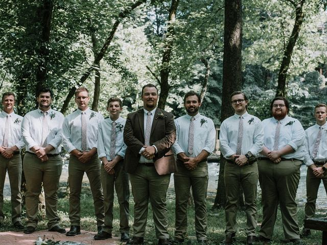 Jake and Katie's Wedding in Watauga, Tennessee 50