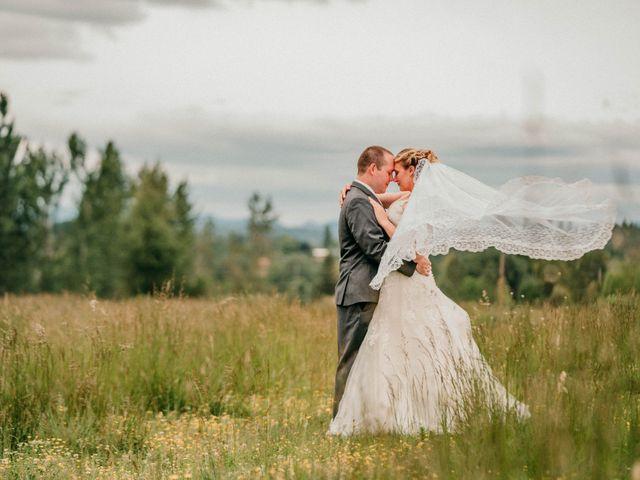 The wedding of Jennifer and Chris