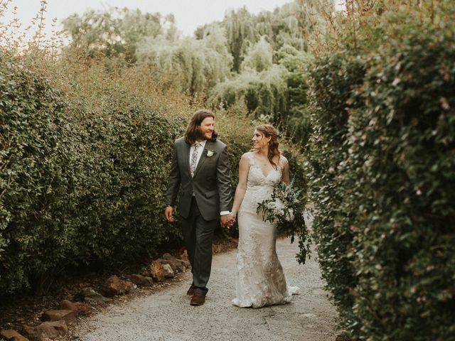 The wedding of Tisza and Taylor