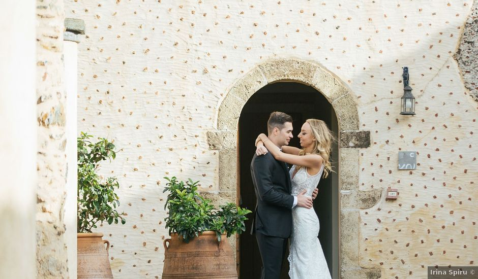 Iulian and Alexandra's Wedding in Athens, Greece