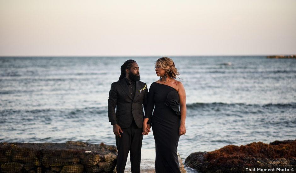 Jaamal and Chena's Wedding in Playa del Carmen, Mexico