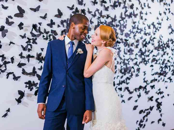 The wedding of Trisha and Matravius