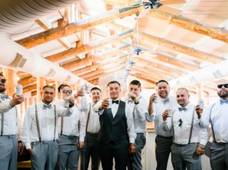 Elazar and Cristina's Wedding in Crestline, California 3