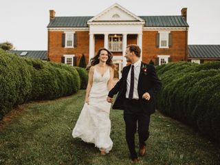 Christian and Monika's Wedding in Lynchburg, Virginia 7
