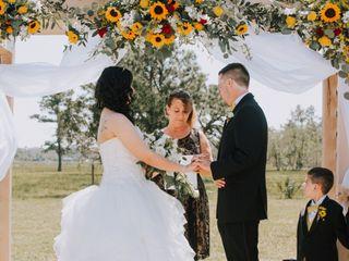 The wedding of Sarah and Shaun