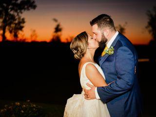 The wedding of Rhonda and Aaron