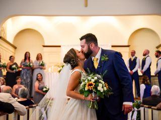 The wedding of Rhonda and Aaron 1