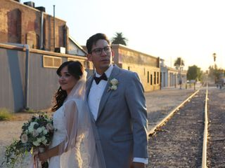 The wedding of Daniel and Alyssa