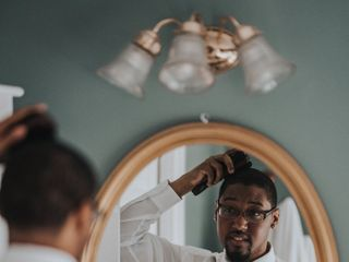 The wedding of Randy and Jermaine 2