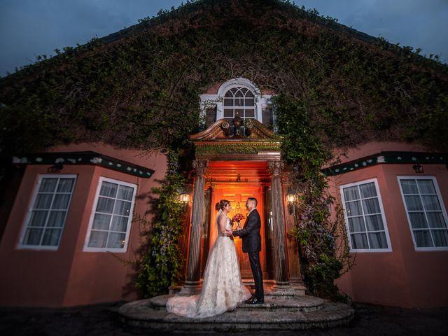 The wedding of Celia and Alex
