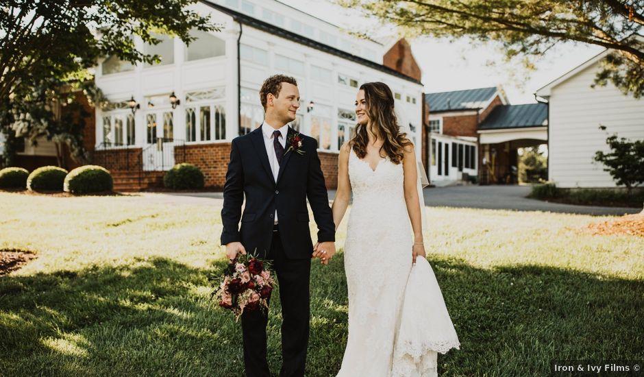 Christian and Monika's Wedding in Lynchburg, Virginia