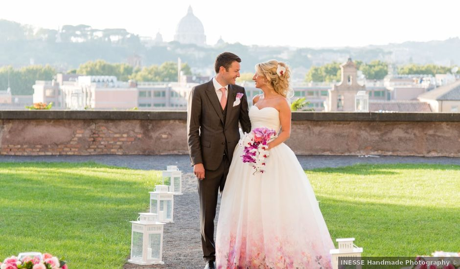 Matthew and Jessica's Wedding in Rome, Italy