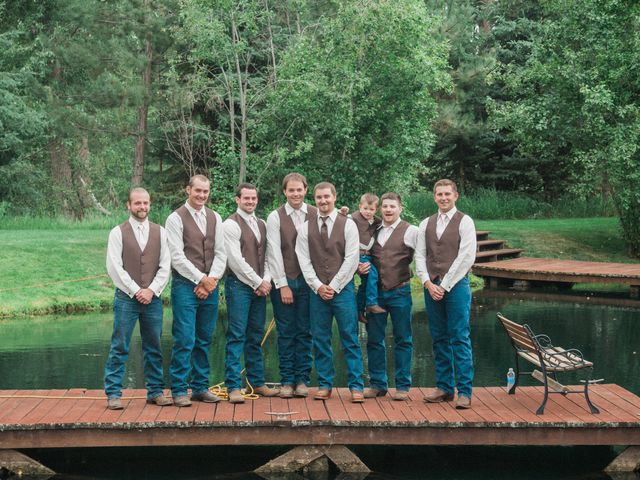 Morgan and Jake's Wedding in Darby, Montana 7