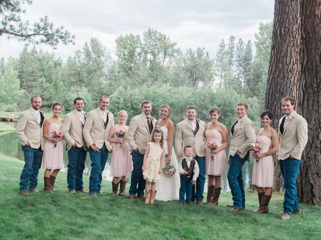 Morgan and Jake's Wedding in Darby, Montana 8