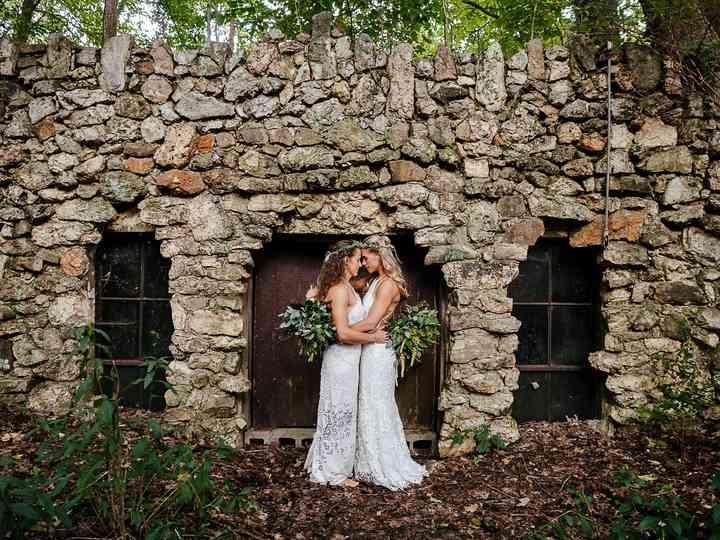 The wedding of Lauren and Michelle