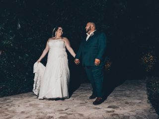 The wedding of Alexandra and Raul