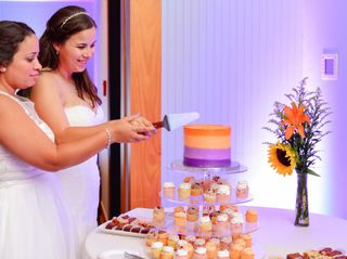 The wedding of Rebecca and Lara 1