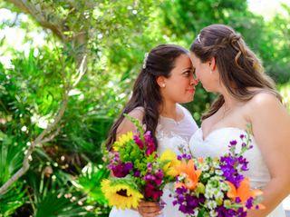 The wedding of Rebecca and Lara