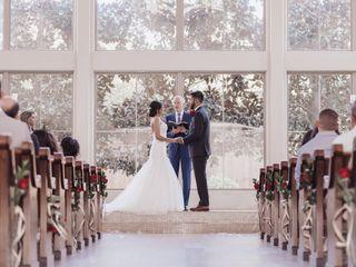 The wedding of Noel and Zelia