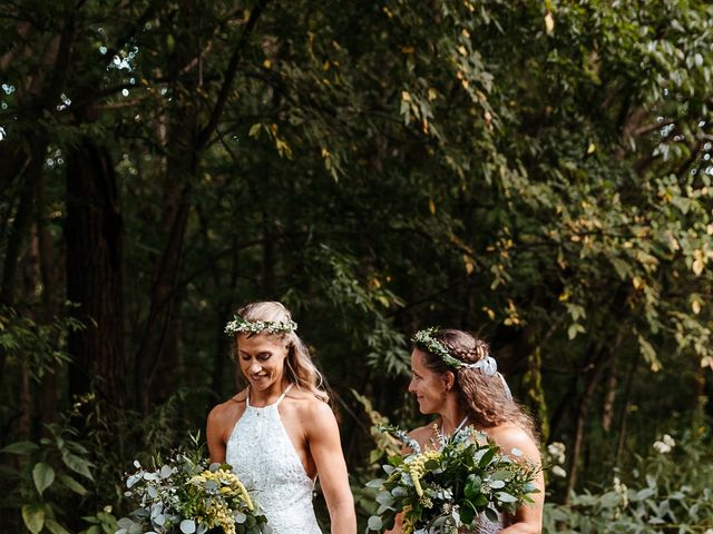 Michelle and Lauren's Wedding in Memphis, Tennessee 75