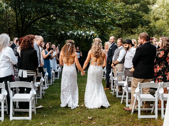 Michelle and Lauren's Wedding in Memphis, Tennessee 77